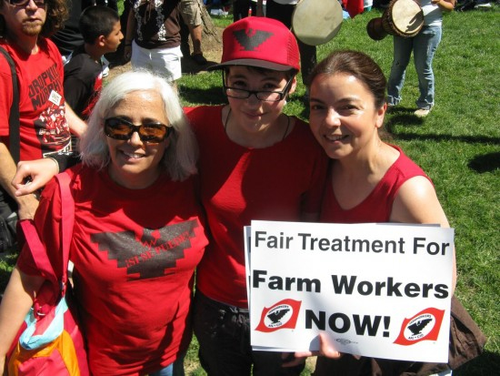 Three Generations of Farm Worker Supporters